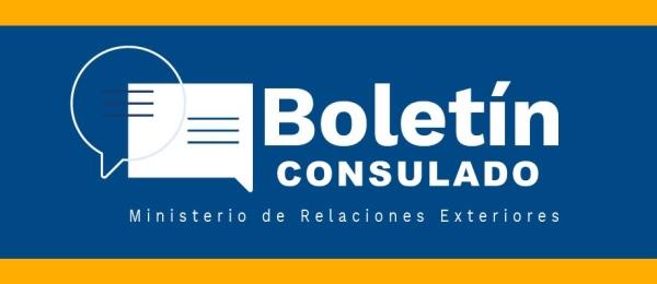 Boletín Mensual de mayo del Consulado de Colombia