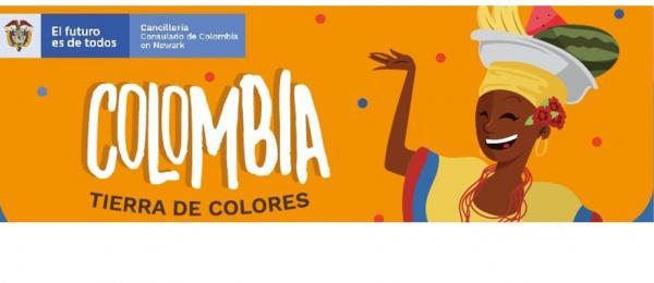 Consulado de Colombia en Newark invita a la exposición de arte Tierra de Colores que se realizará el 8 de octubre para conmemorar el Día Nacional del Colombiano