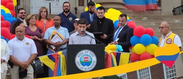 Así celebramos los colombianos nuestra independencia en Nueva Jersey y Pensilvania
